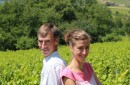 Pierre-Yves Perrachon et sa fille Charlotte