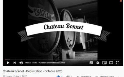 Dégustation de nos vins par un sommelier, meilleur ouvrier de France ;)